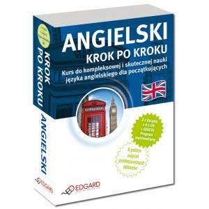 Angielski. Krok Po Kroku. Książka + CD + MP3 + Program Multimedialny