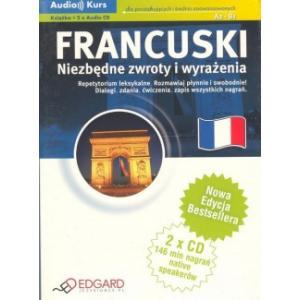 EDGARD Francuski Niezbędne Zwroty (+CD)