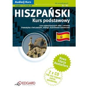 EDGARD Hiszpański Kurs Podstawowy (+CD)