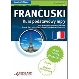 EDGARD Francuski Kurs Podstawowy MP3 (+CD)