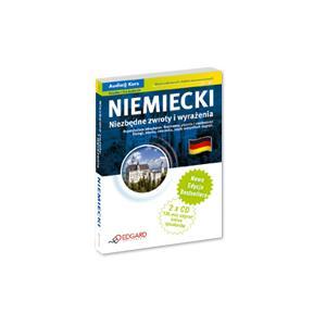 EDGARD Niemiecki Niezbędne Zwroty z CD