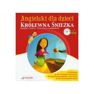 Angielski dla Dzieci Królewna Śnieżka. Ćwiczenia i Łamigłwóki  + CD