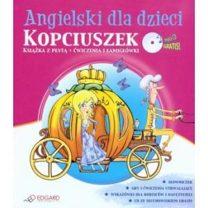 Angielski Dla Dzieci. Kopciuszek. Ćwiczenia i Łamigłówki + CD