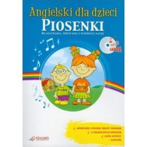 EDGARD Angielski dla Dzieci Piosenki Nowa Edycja OOP