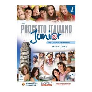 Progetto Italiano Junior 1. Podręcznik Wieloletni + CD