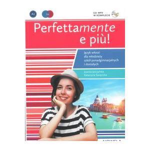 Perfettamente e piu A1 podręcznik + ćwiczenia + CD