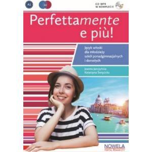 Perfettamente e piu 1B podręcznik + ćwiczenia + CD