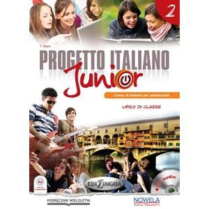 Progetto Italiano Junior 2 + CD. Podręcznik Wieloletni