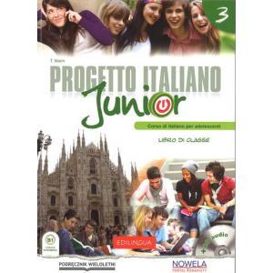 Progetto Italiano Junior 3. Podręcznik Wieloletni + CD
