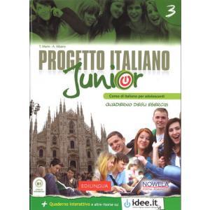 Progetto Italiano Junior 3. Materiał Ćwiczeniowy