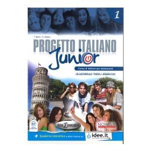 Progetto Italiano Junior 1. Materiał Ćwiczeniowy