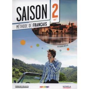 Saison 2 Podręcznik + CD /Podręcznik Wieloletni/