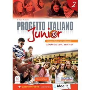 Progetto Italiano Junior 2. Materiał ćwiczeniowy