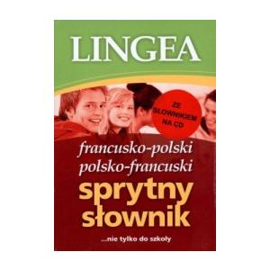 Sprytny Słownik francusko-polski i polsko-francuski ze słownikiem na CD