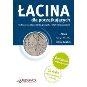 Łacina dla początkujących. Ćwiczenia z odpowiedziami + CD