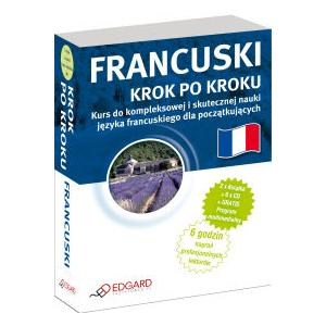 EDGARD Francuski Krok Po Kroku z CD