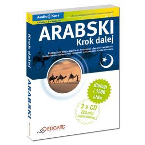 Arabski Krok Dalej + CD. Audiokurs dla początkujących i średniozaawansowanych A2-B1