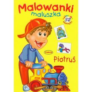 Malowanki maluszka - Piotruś