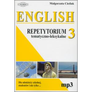 English Repetytorium 3. Książka + MP3