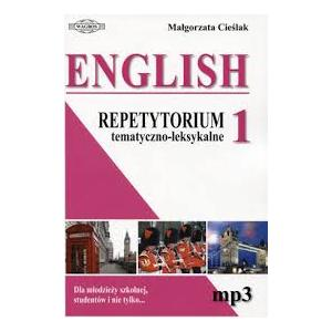 English. Repetytorium tematyczno-leksykalne 1 + MP3