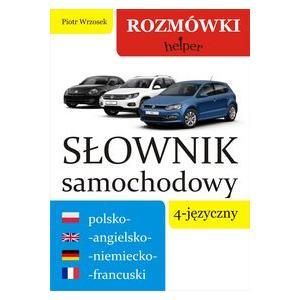 Słownik Samochodowy 4-Języczny Polsko-Angielsko-Niemiecko-Francuski