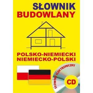 Słownik Budowlany Niemiecko-Polsko-Niemiecki + Słownik Elektroniczny na CD