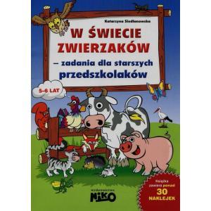 W Świecie Zwierzaków Zadania dla Starszych Przedszkolaków