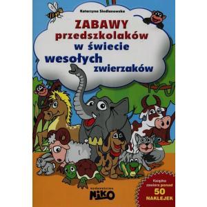 Zabawy Przedszkolaków W Świecie Wesołych Zwierząt