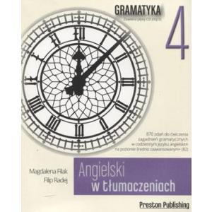 Angielski w Tłumaczeniach. Gramatyka 4 + CD