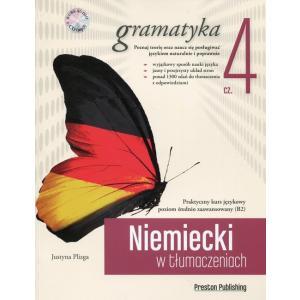 Niemiecki w tłumaczeniach. Gramatyka 4. Wydanie 1 + CD