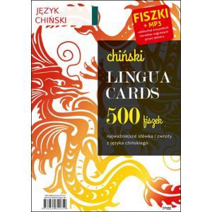Chiński. Lingua Cards. 500 fiszek + MP3