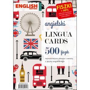 Angielski. Lingua Cards. 500 fiszek + MP3