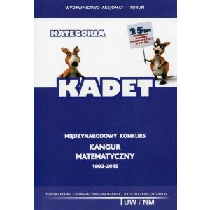Matematyka z Wesołym Kangurem. Kategoria Kadet