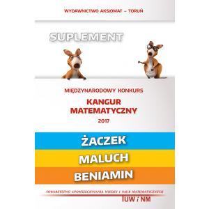Matematyka z Wesołym Kangurem. Suplement 2016 (Żaczek/Maluch/Beniamin)
