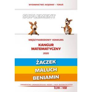 Matematyka z wesołym kangurem. Suplement 2020. Żaczek/Maluch/Beniamin