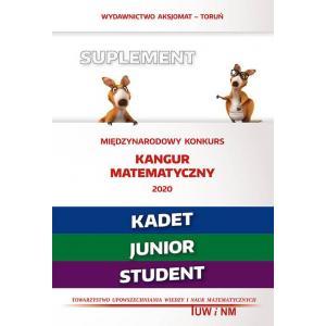 Matematyka z wesołym kangurem. Suplement 2020. Kadet/Junior/Student