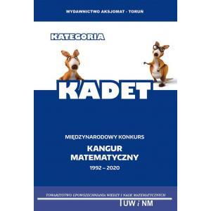 Matematyka z wesołym kangurem. Międzynarodowy konkurs matematyczny. Kategoria Kadet 2020