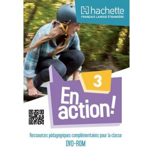 En Action 3 zestaw metodyczny dla Nauczyciela (DVD-Rom)
