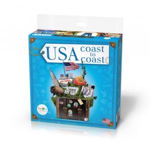 Gra Językowo-Cywilizacyjna Angielski. USA Coast to Coast