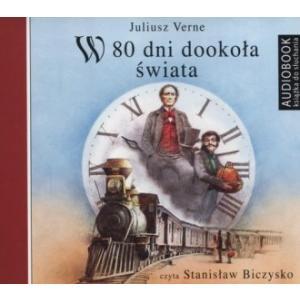 W 80 dni dookoła świata (Audiobook) (CD-MP3)