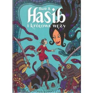 Hasib i królowa węży /komiks/