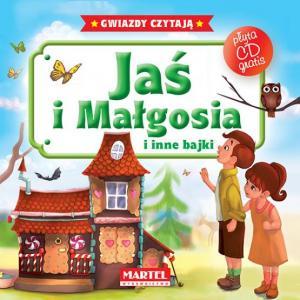 Gwiazdy czytają. Jaś i Małgosia i inne bajki + CD