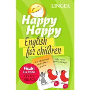 Happy Hoppy English for Children. Fiszki dla dzieci (cechy i relacje)