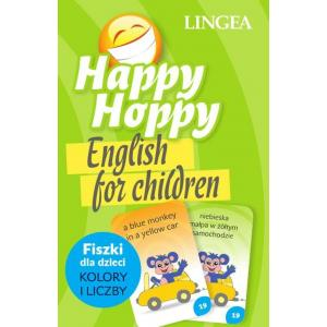 Happy Hoppy. English for Children. Fiszki dla Dzieci - Kolory i Liczby