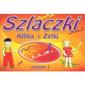 Szlaczki Alfika i Zetki Poziom 1