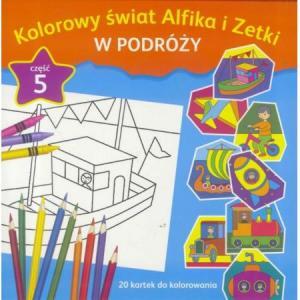 Kolorowy Świat Alfika i Zetki. Na Podwórku. Część 5