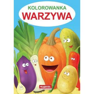 Kolorowanka Warzywa