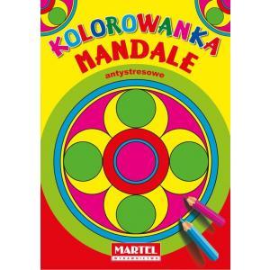 Kolorowanka Mandale Antystresowe Koła