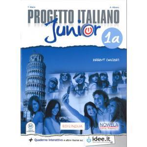 Progetto Italiano Junior 1A. Ćwiczenia. Klasa 7. Szkoła Podstawowa
