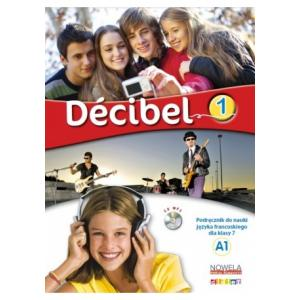 Decibel 1 Podręcznik + MP3 kl.VII